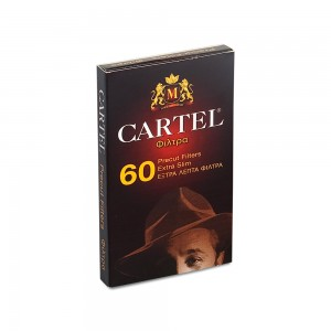 Фильтры сигаретные Tips CARTEL Pre-cut Red