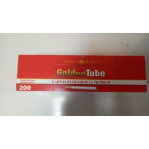 Гильзы для набивки сигарет GoldenTube 200