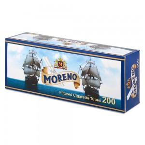 Гильзы для набивки сигарет Tubes MORENO 200