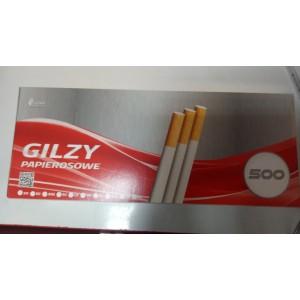 Гильзы для набивки сигарет Gilzy Papierosowe 500