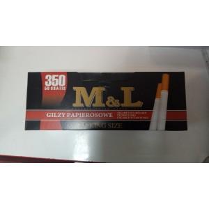 Гильзы для набивки сигарет M&L 350+50