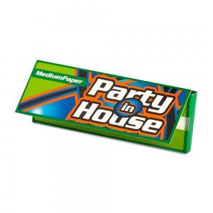 Бумага сигаретная Party in House Green