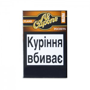 """Сигары Al Capone Pockets Flame Filter""""3"""