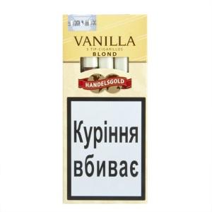 """Сигары Handelsgold Vanilla Tip-Cigarillos Blond""""5"""