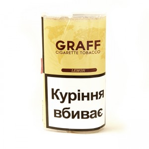 Табак для самокруток Graff Lemon (30гр)
